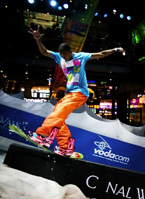 Katlego Maponyane doing what he does best - kills jibs and rails!