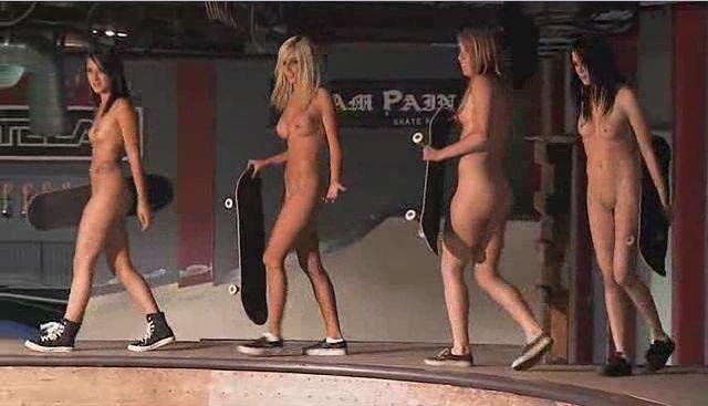 Skate Babes Naked