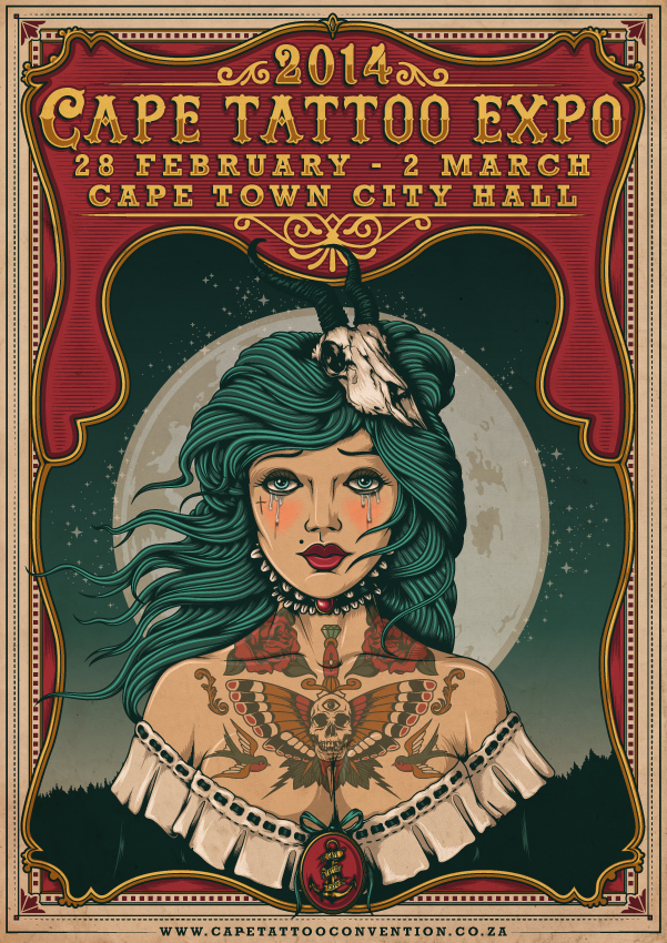 Tattoo Expo poster fin